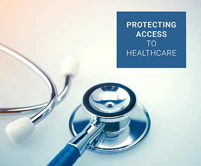 Protecting access to healthcare