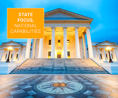 State focus, national capabilities