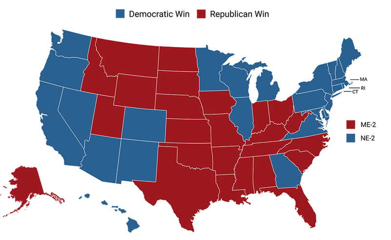 2020 presidential results