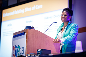 Latoya speaking at the ATA 2018 Annual Meeting in Chicago on the opportunities in the 2018 Bipartisan Budget Act.