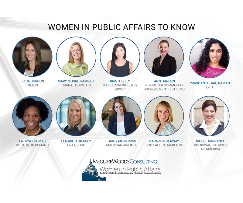 women in public affairs to know