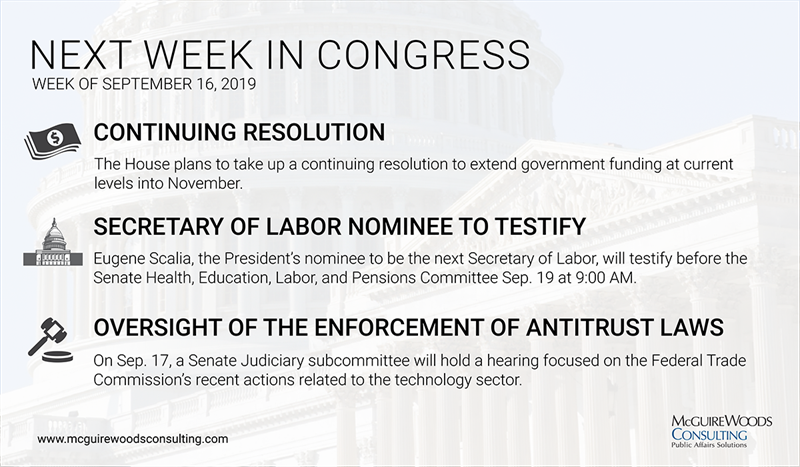 next week in congress