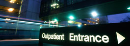 hospital outpatient entrance