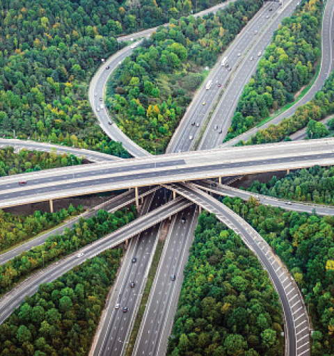 highways intersecting