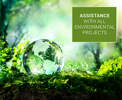 Assistance with all environmental projects